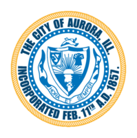 logo or seal for Aurora, IL
