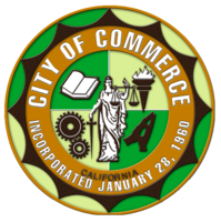 logo or seal for City of Commerce