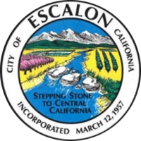 logo or seal for City of Escalon CA