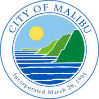 logo or seal for City of Malibu