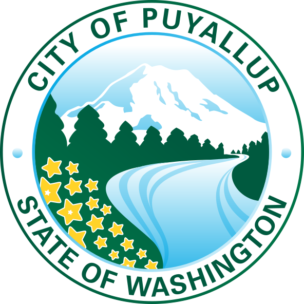 logo or seal for City of Puyallup