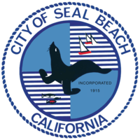 logo or seal for City of Seal Beach