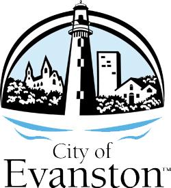 logo or seal for Evanston