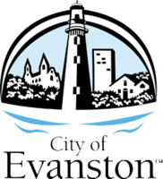 logo or seal for Evanston