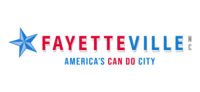 logo or seal for Fayetteville, NC