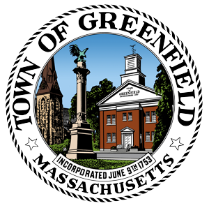 logo or seal for Town of Greenfield
