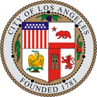 logo or seal for City of Los Angeles