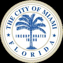 logo or seal for Miami