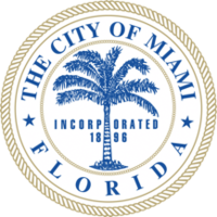 logo or seal for Miami