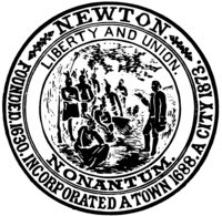 logo or seal for City of Newton