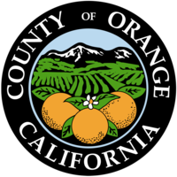 logo or seal for Orange County
