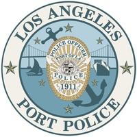 logo or seal for LA Port Police