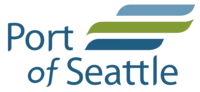 logo or seal for Port of Seattle