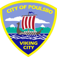 logo or seal for Poulsbo