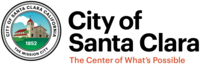 logo or seal for City of Santa Clara