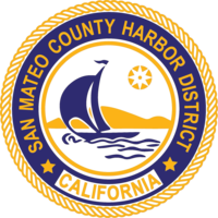 logo or seal for San Mateo County Harbor District