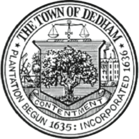 logo or seal for Town of Dedham