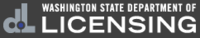 logo or seal for WA Department of Licensing