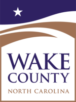 logo or seal for Wake County Government
